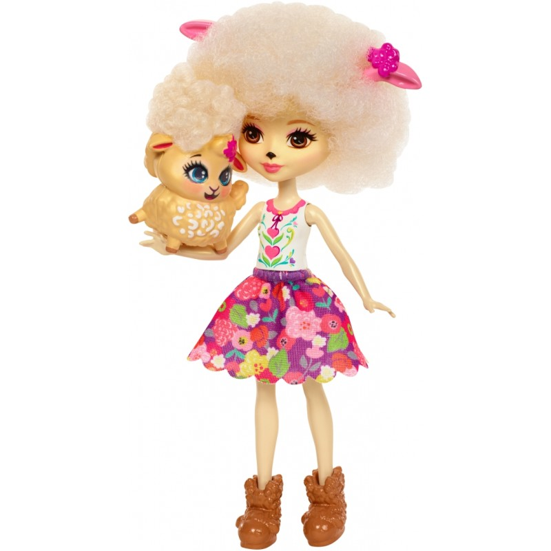 Mattel Enchantimals Schafmädchen Lorna Lamb