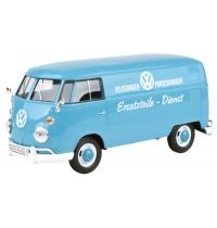 MM79556 VW T1   VW Ersatzteil Dienst  , taubenblau
