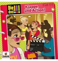 Kosmos Die drei !!! CD 54 Klappe und Action!