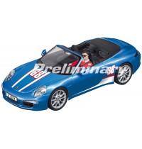 CARRERA DIGITAL 132 - Porsche 911 Carrera S Cabriolet   No.38